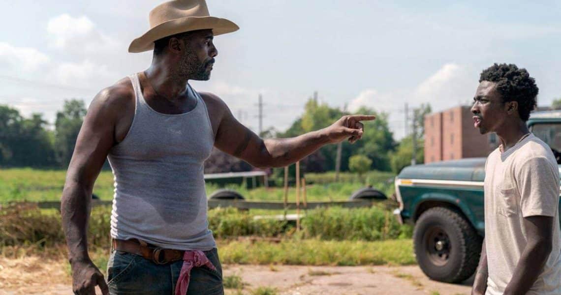 Idris Elba a Caleb McLaughlin