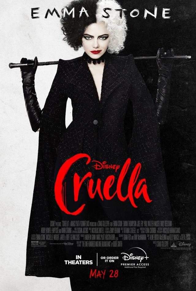 Cruella plagát trailer Disney