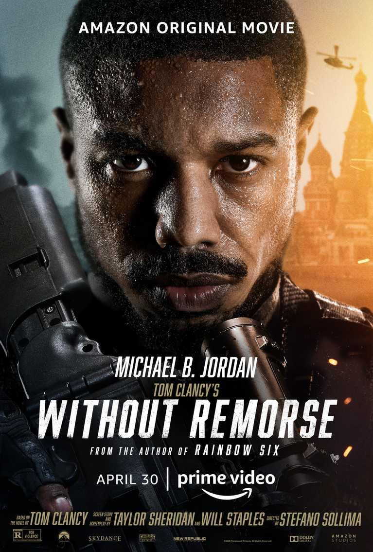 r Tom Clancy's Without Remorse finálny trailer plagát