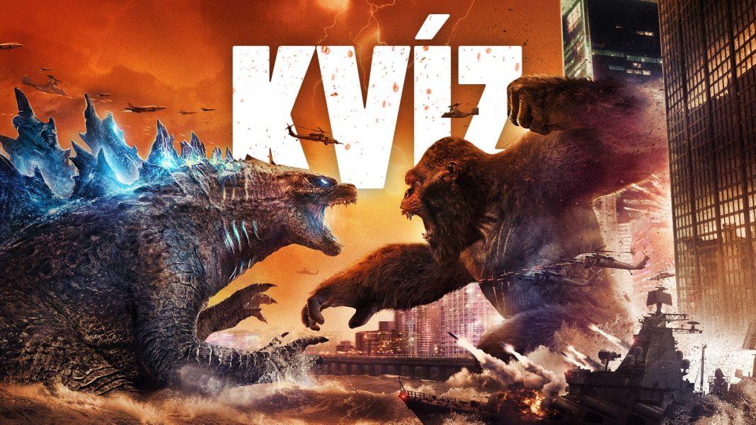 Godzilla vs Kong kvíz