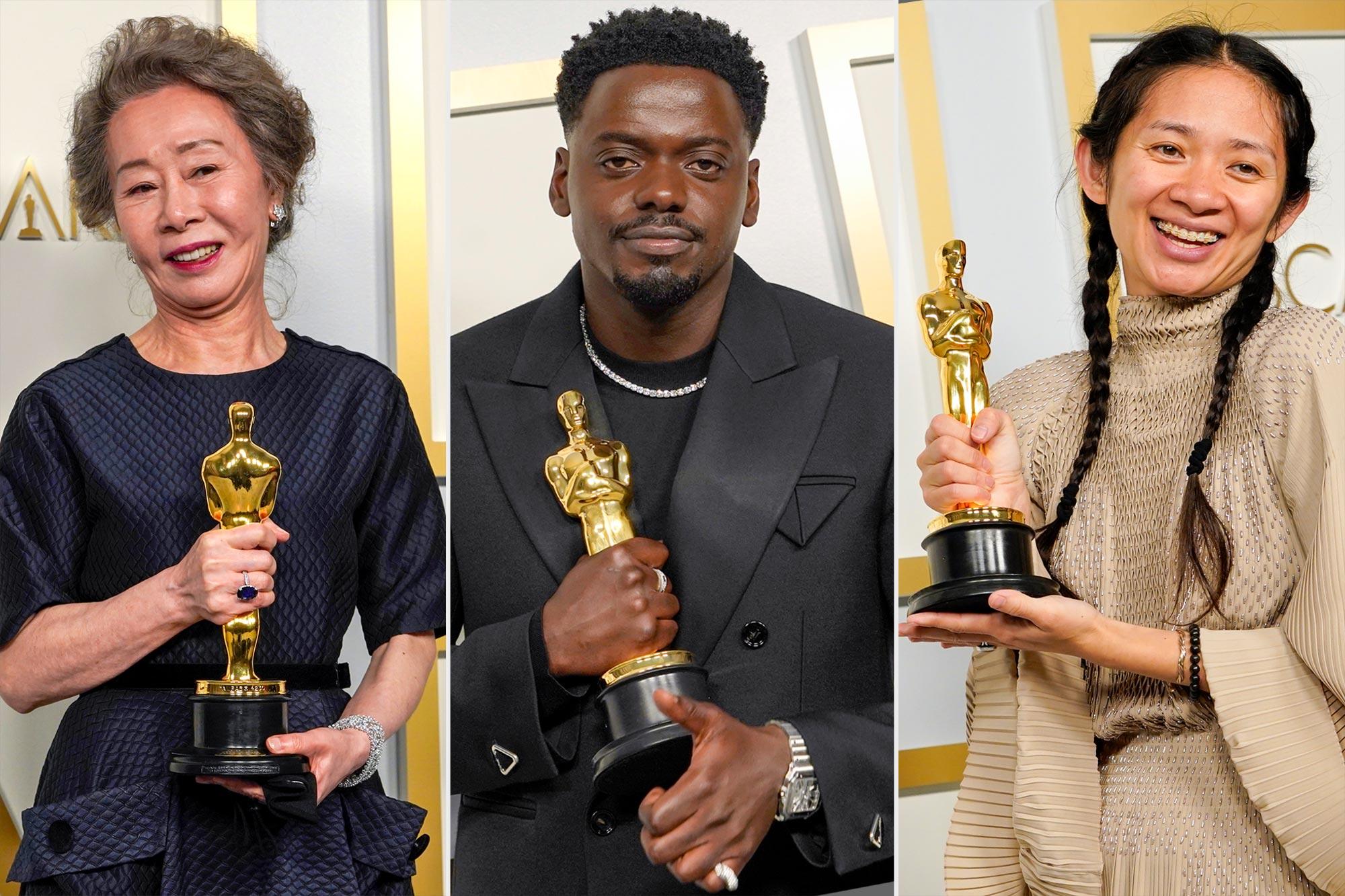 Oscary 2021 výsledky