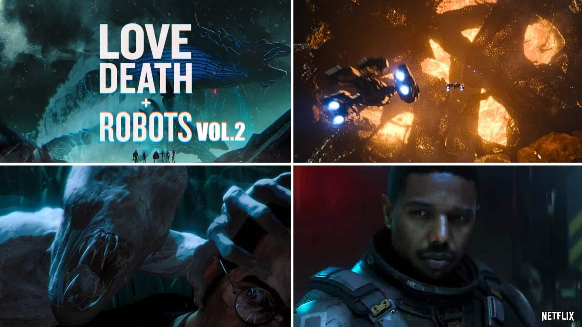 druhá séria Love Death and Robots