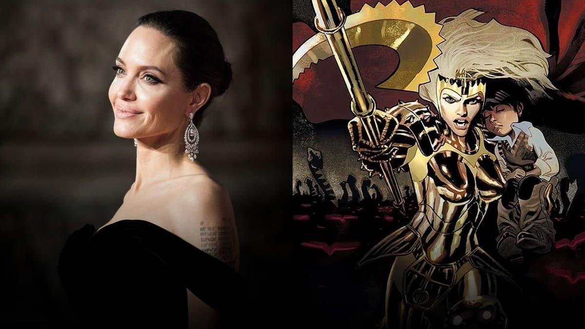 Angelina Jolie Thena Eternals