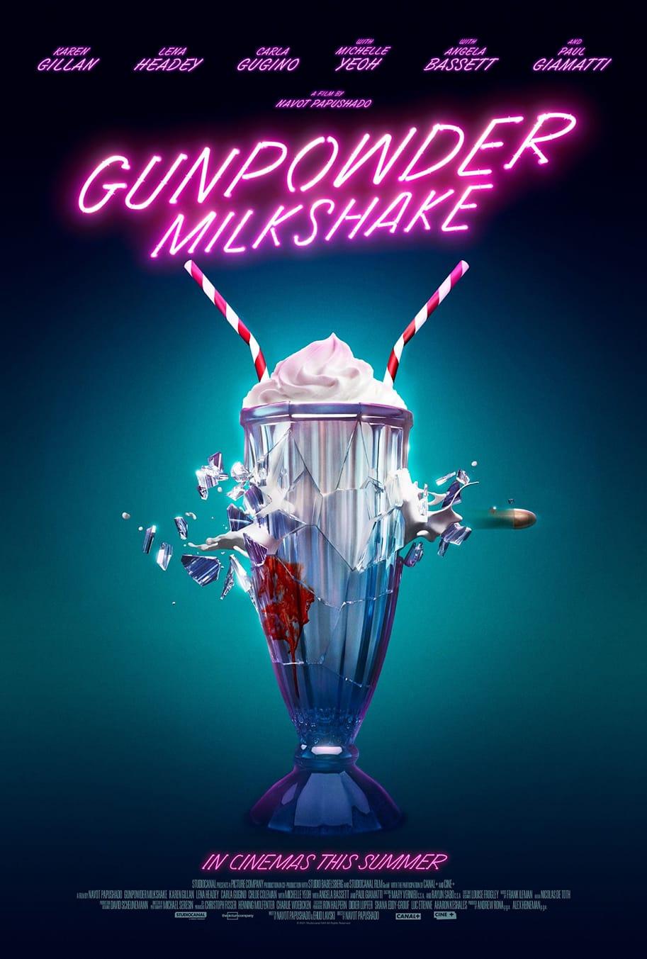 Gunpowder Milkshake trailer poster