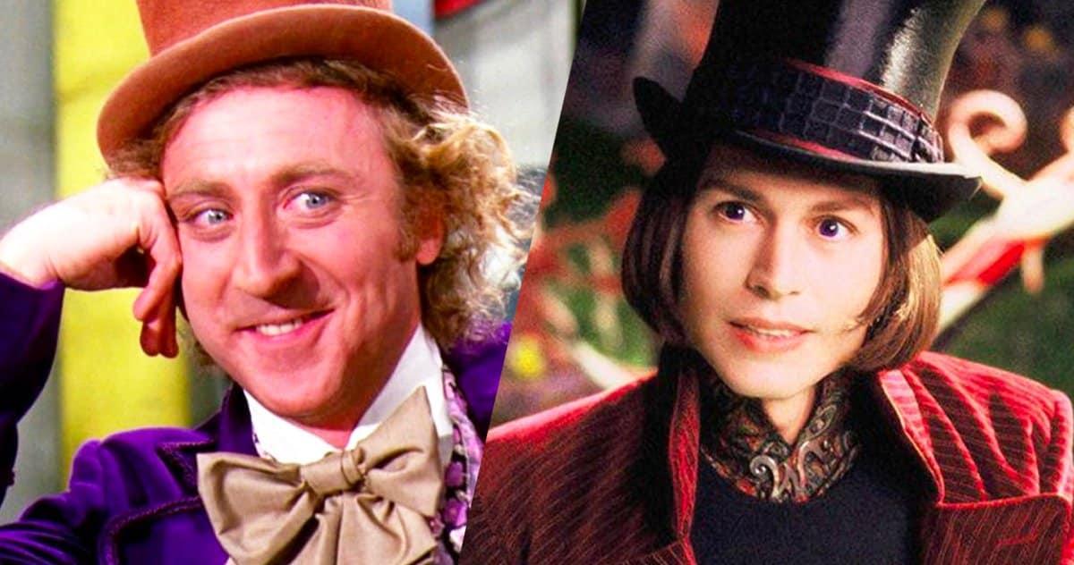 Willy Wonka Wilder Depp