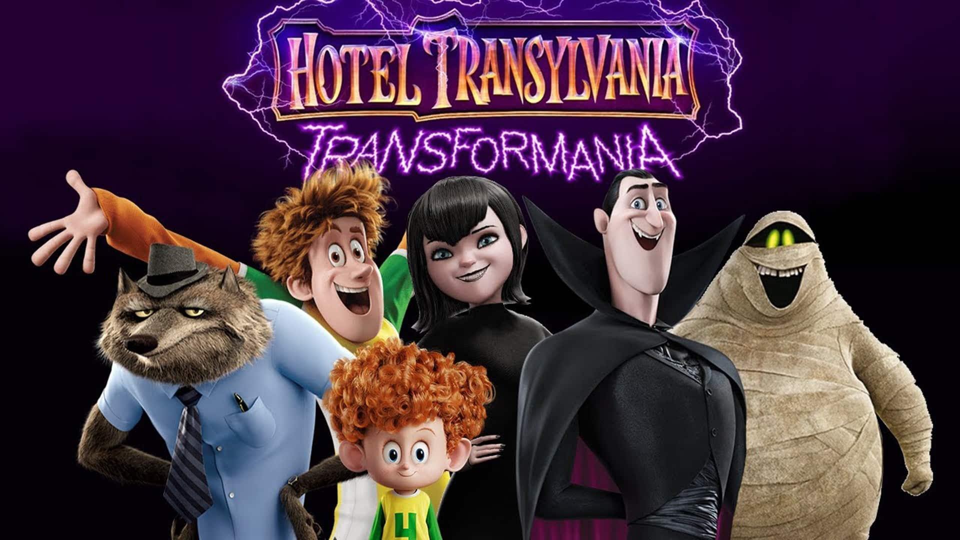Hotel Transylvánia: Tranforsmánia trailer