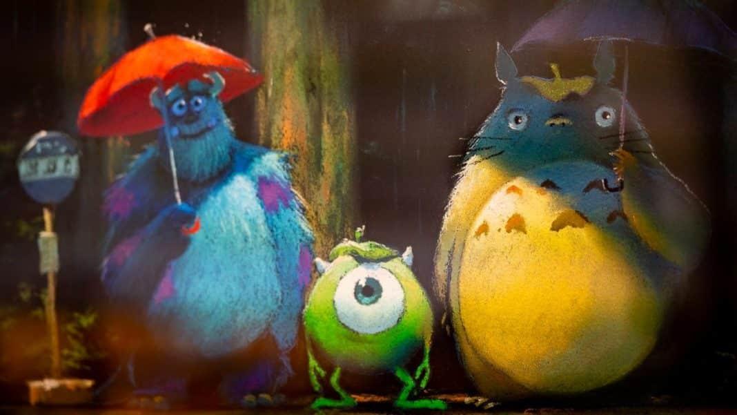 Ghibli Pixar spolupráca