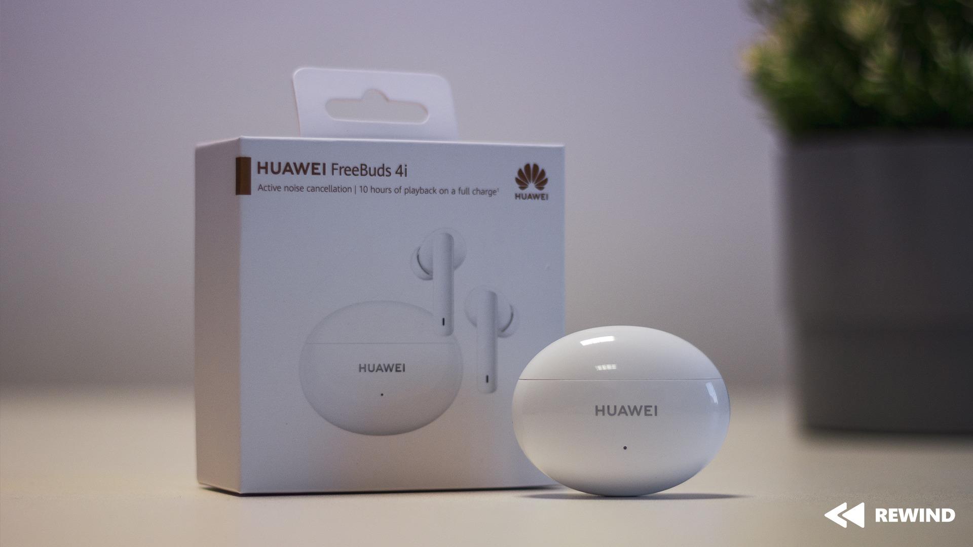Huawei FreeBuds 4i recenzia