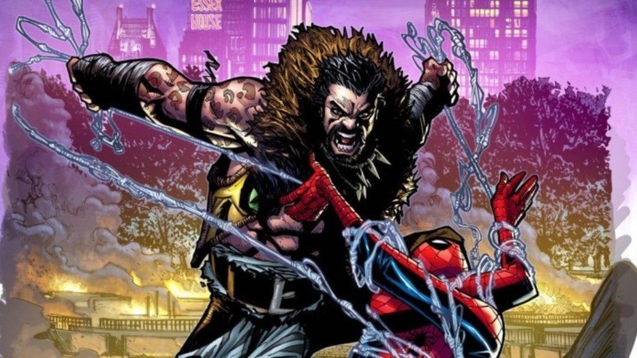 kravin the hunter spider-man