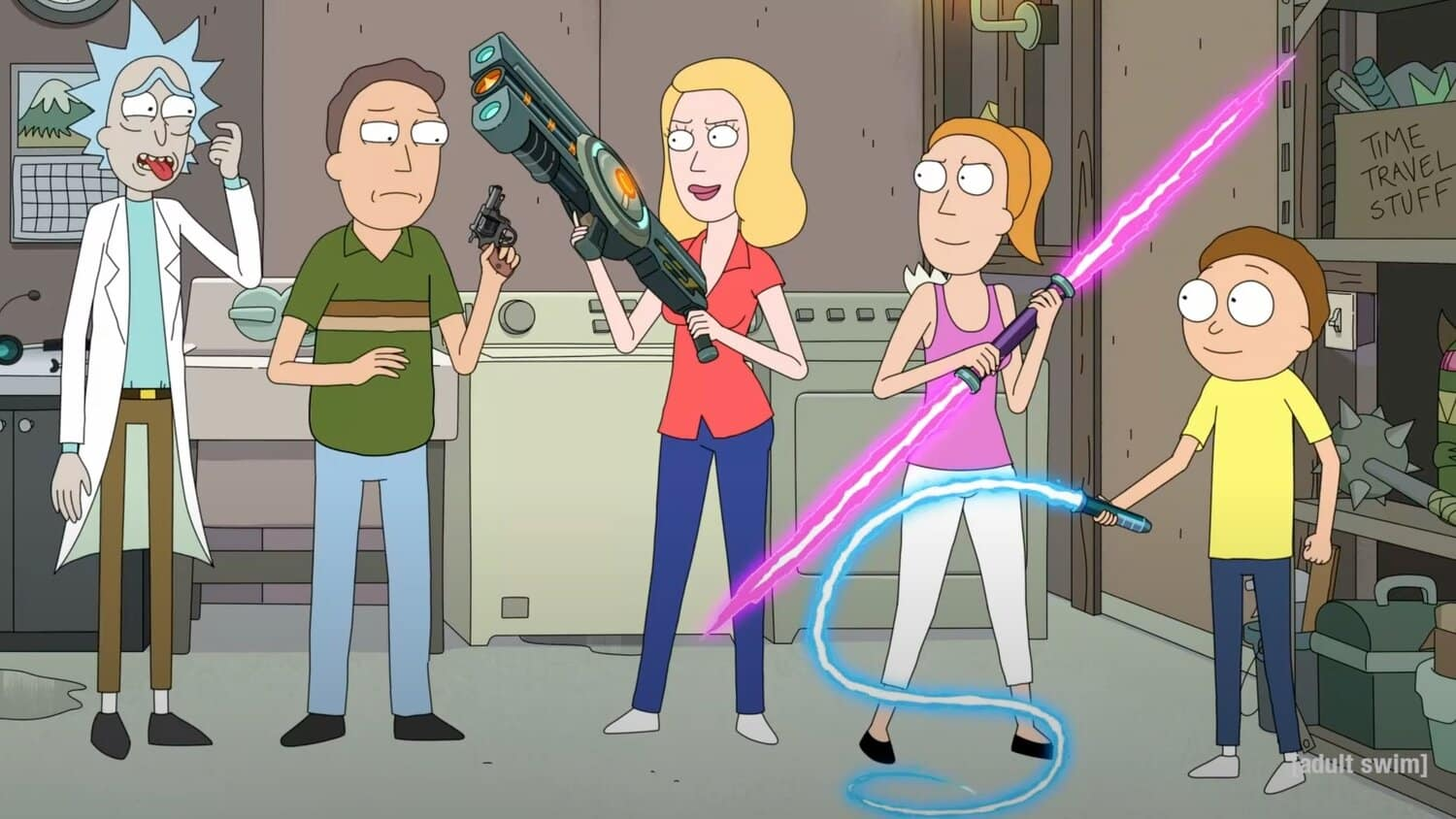5. séria rick a morty trailer