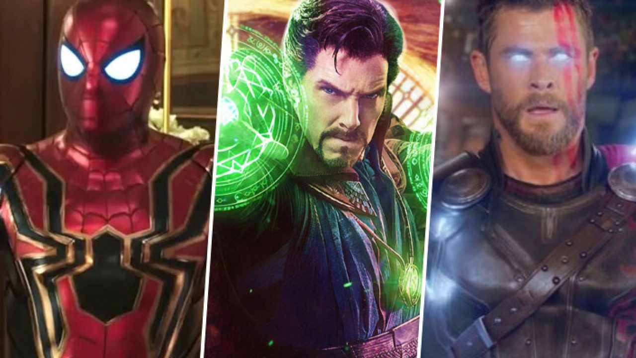 thor, doctor strange, spider-man, Marvel trailer pre Fázu 4