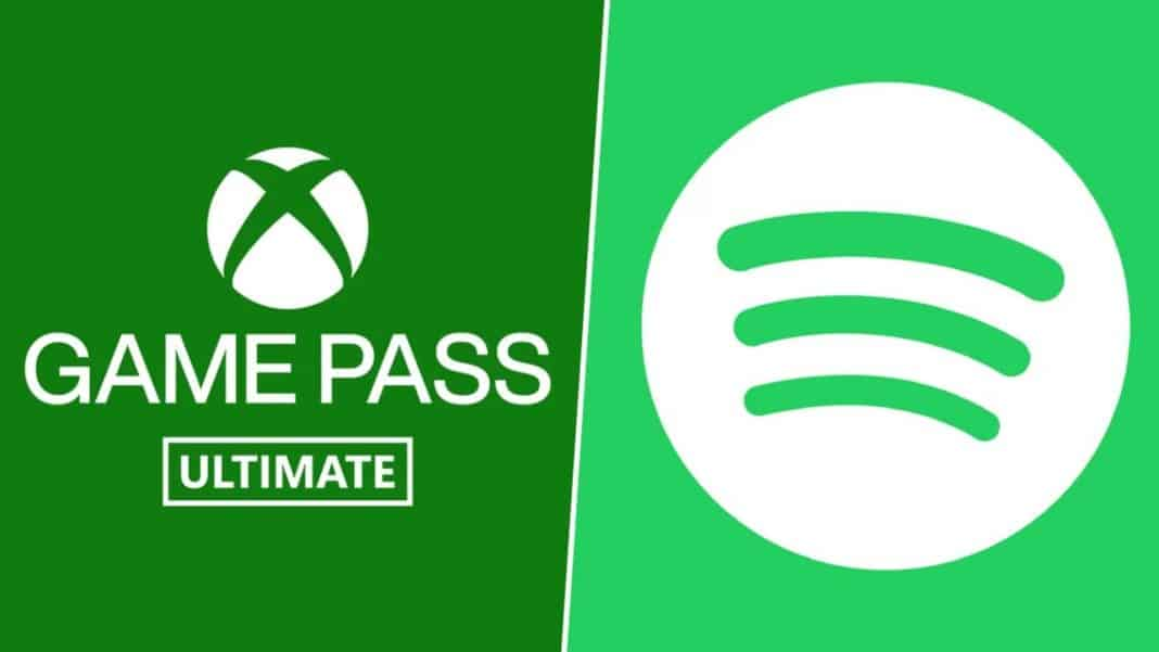 Xbox Game Pass Spotify
