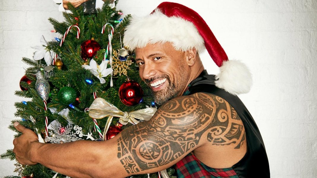 Dwayne Johnson vianočný film