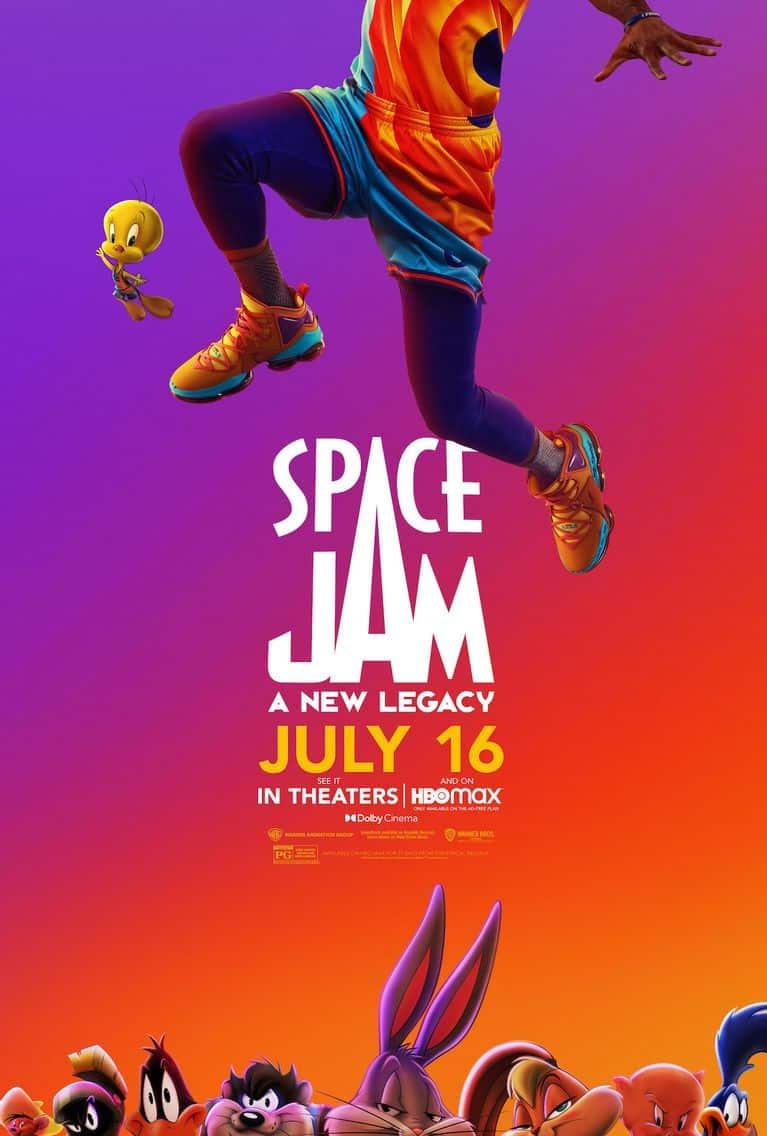 Space Jam 2 finálny trailer plagát