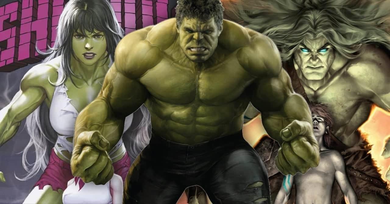 She-Hulk, Hulk, Skaar