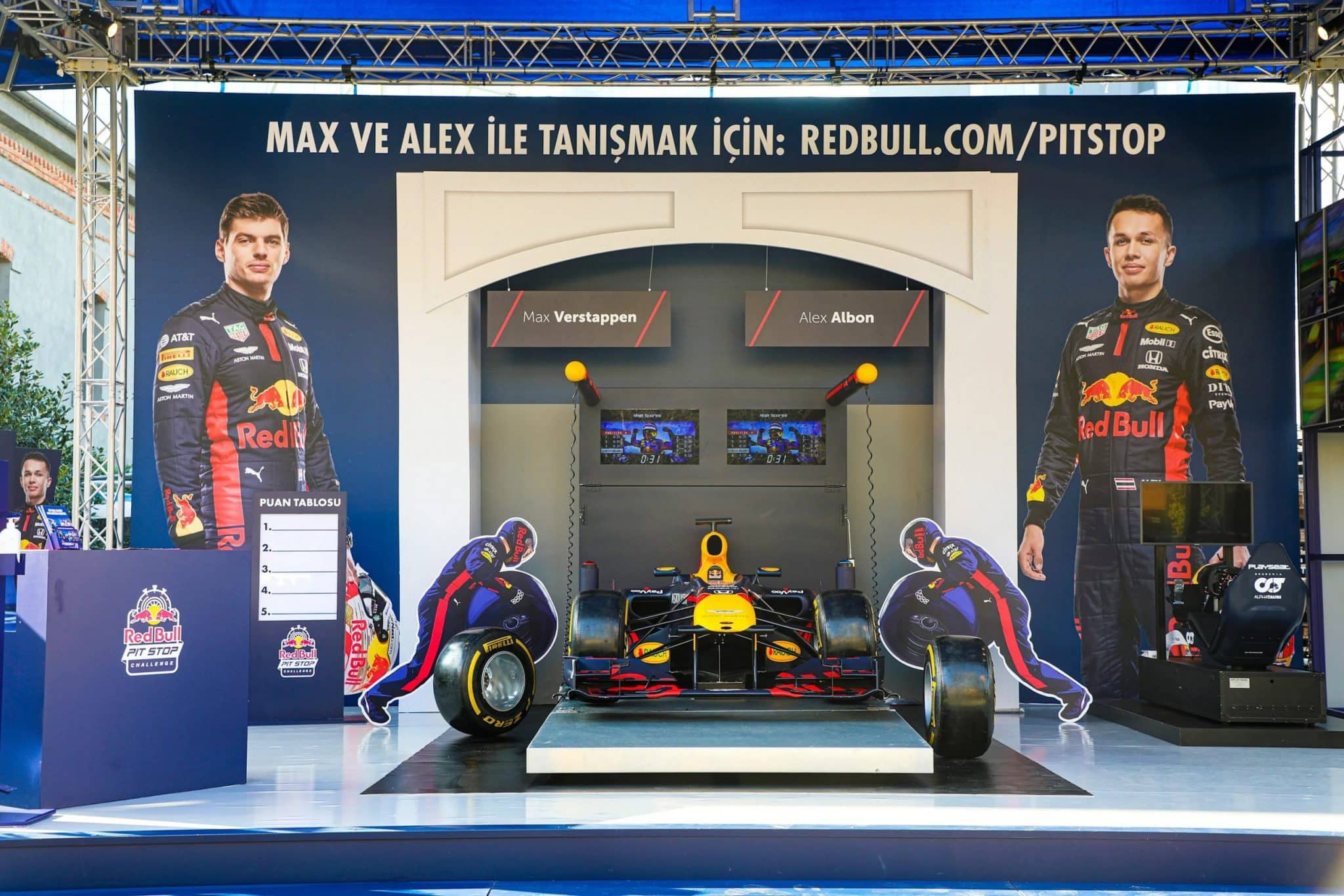 Red Bull Pit Stop Challenge Live