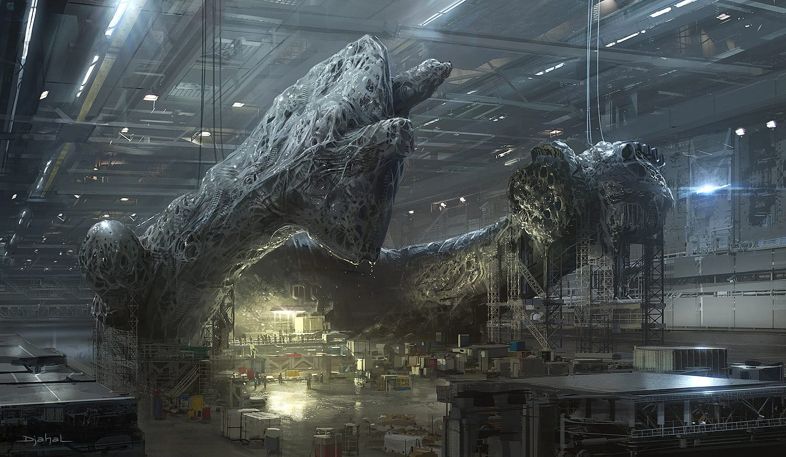 Koncept arty z Alien 5