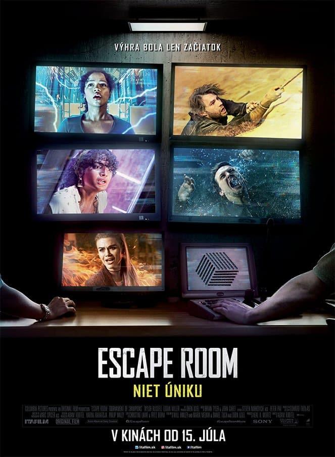 Escape Room: Niet úniku plagát