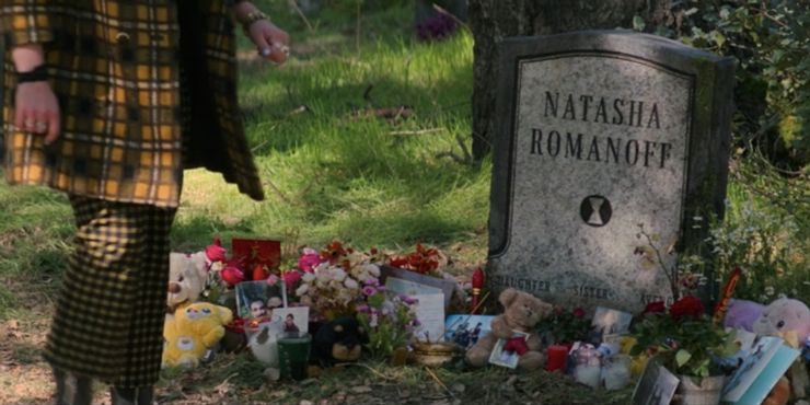 Black Widow Natashin hrob