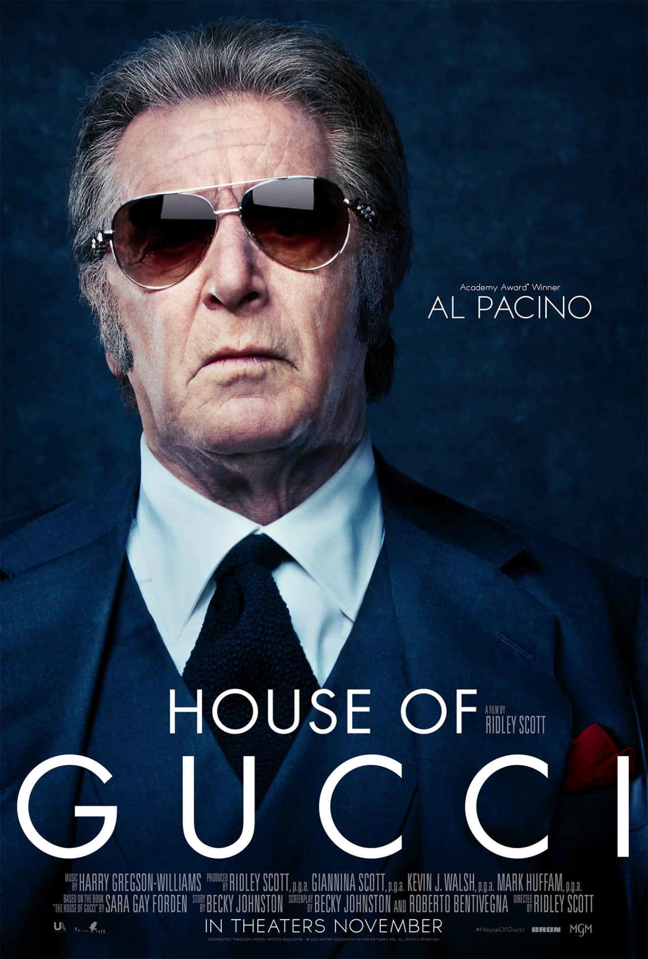 House of Gucci plagáty