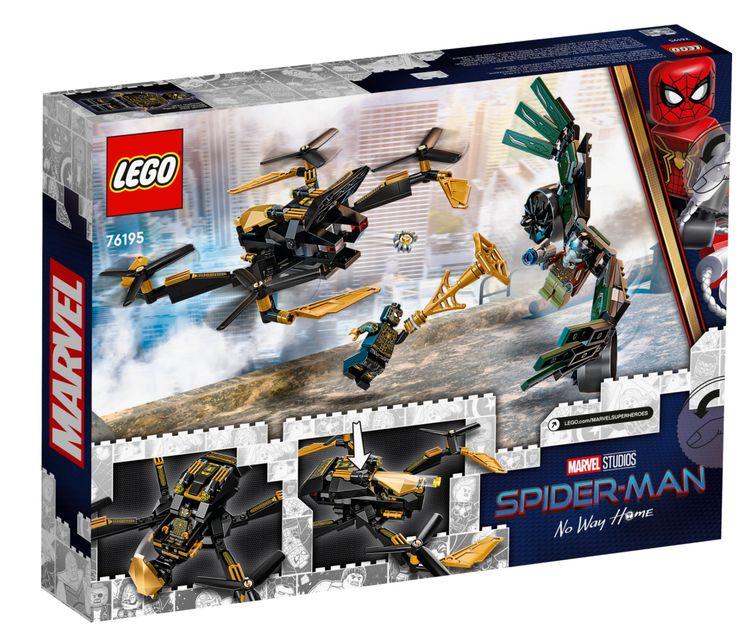 Set Spider-Man's Drone Duel