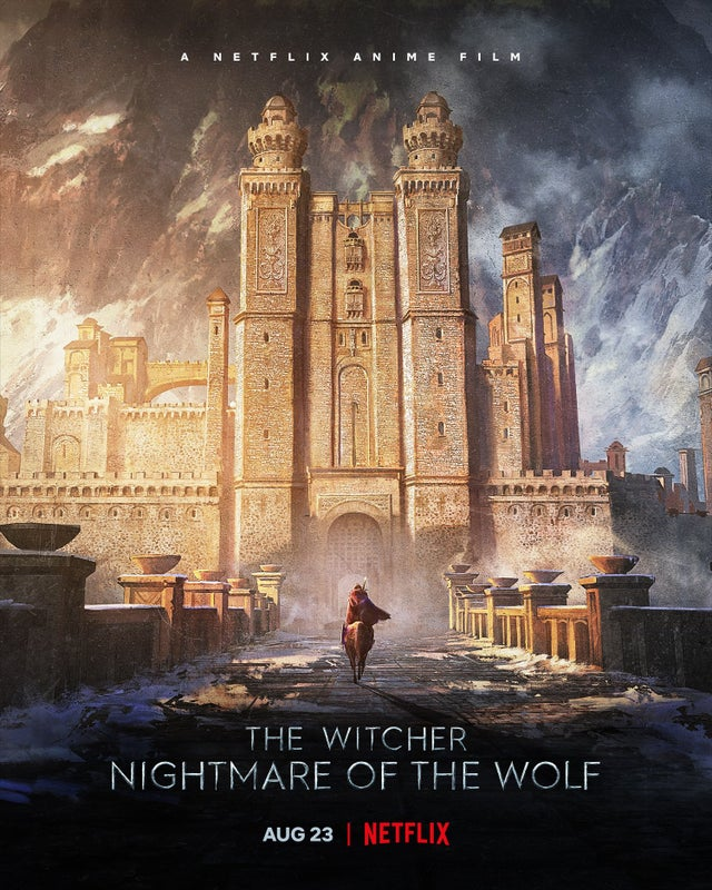 The Witcher: Nightmare of the Wolf trailer plagát