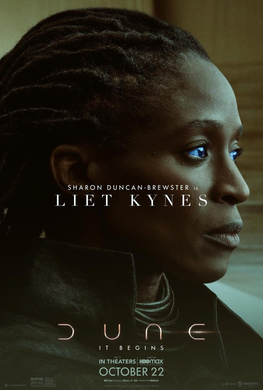 Sharon Duncan-Brewster ako Liet-Kynes