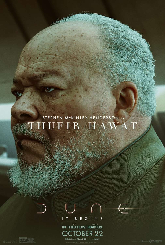 Stephen Henderson ako Thufir Hawat
