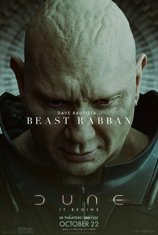 Dave Bautista ako Beast Rabban