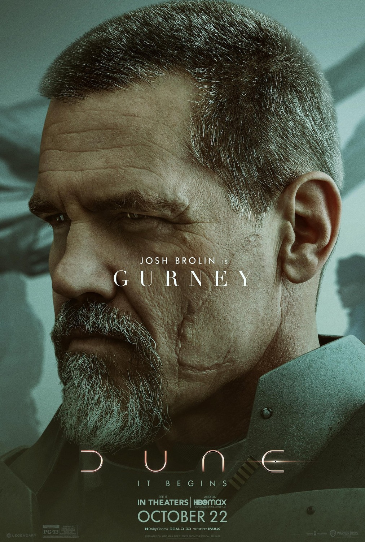 Josh Brolin ako Gurney Halleck