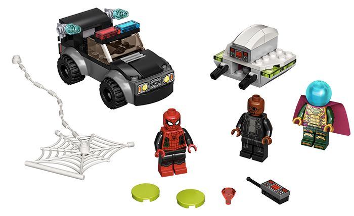 Set Spider-Man vs. Mysterio's Drone Attack