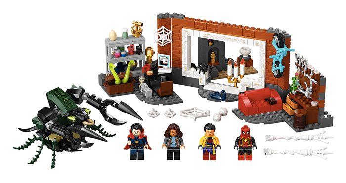 Set Spider-Man at the Sanctum Workshop