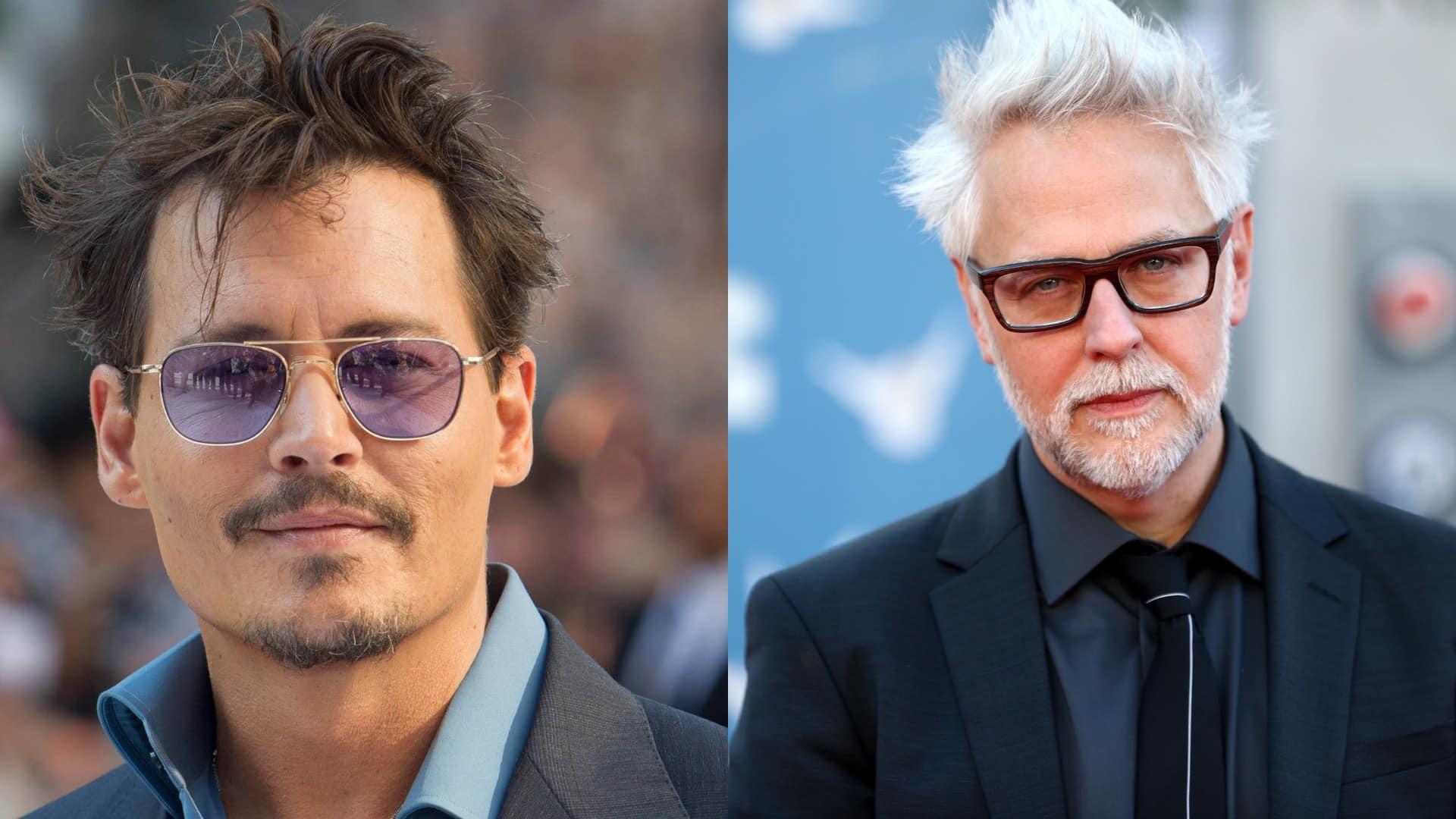 James Gunn a Johnny Depp