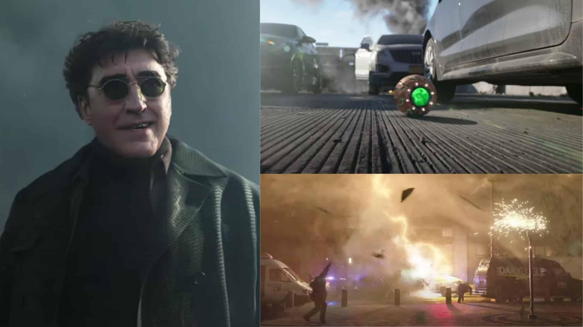 Doctor Octopus, Green Goblin, Electro, Spider-Man No Way Home