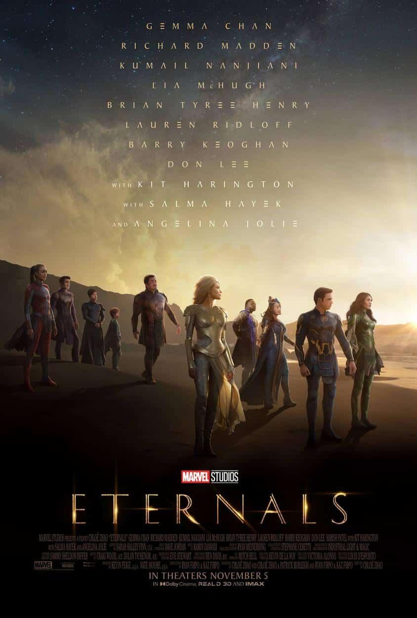 Eternals plagát