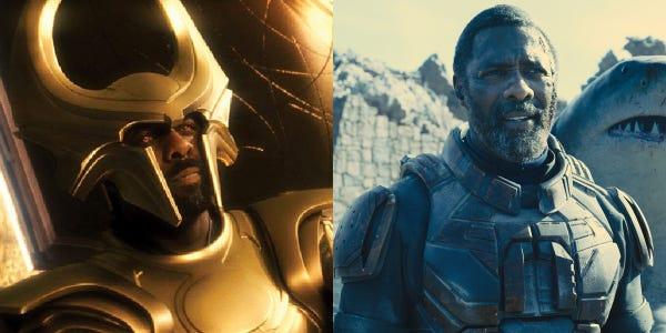 Idris Elba v MCU a DC