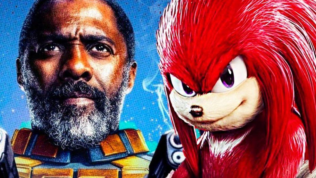 Idris Elba Knuckles Ježko Sonic 2