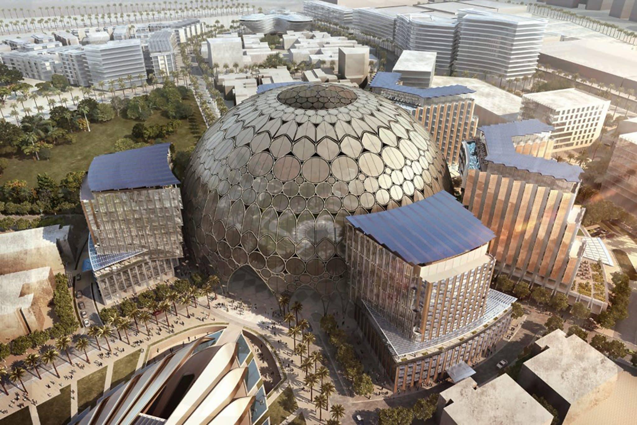 Al Wasl - kupola s najvacsiou sferickou projekciou na svete