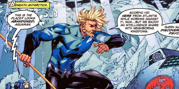 Aquaman nový oblek