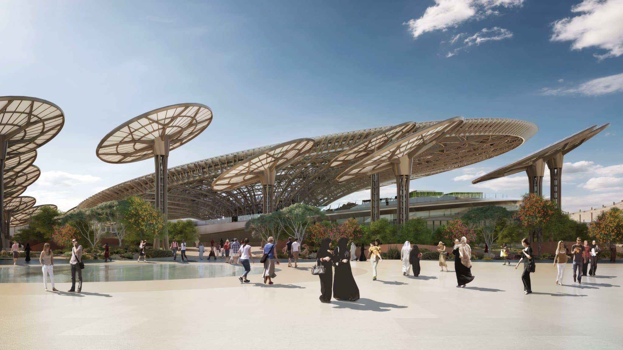 Dubai Expo_Entrance09