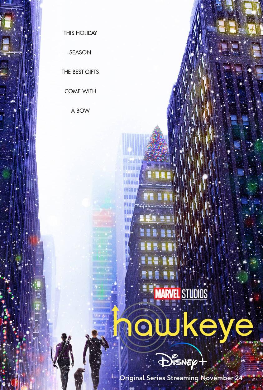 Hawkeye oficiálny plagát