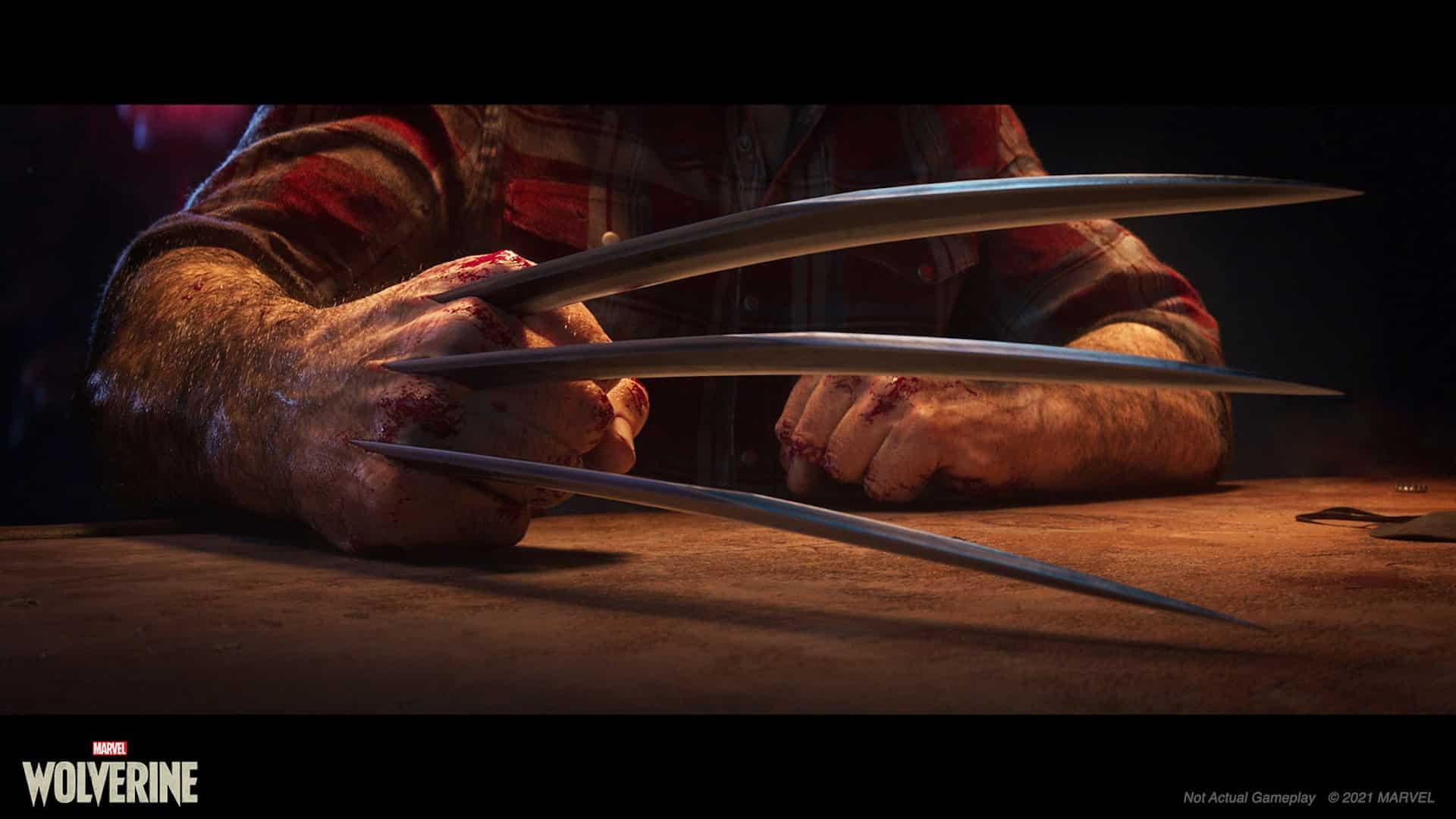 Marvel's Wolverine - not main
