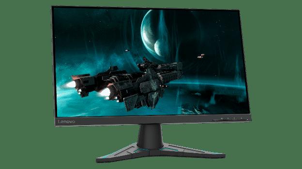 Nakloňte monitor Lenovo G24e-20 pre pohodlnejšie hranie a menšiu námahu očí a krku