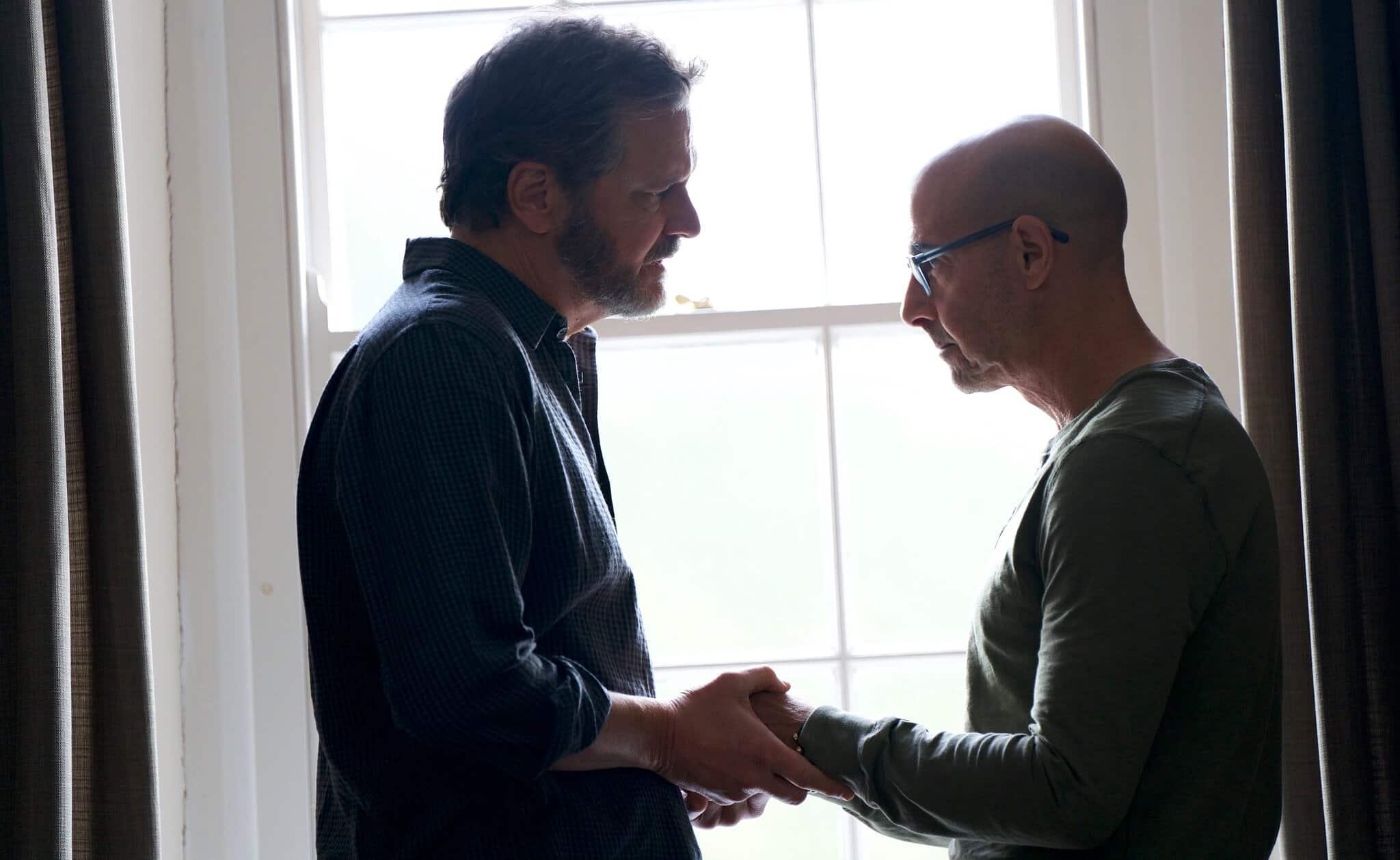 Colin Firth a Stanley Tucci