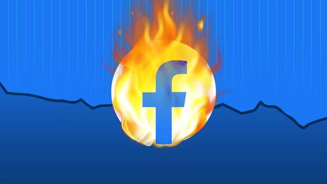 co sposobilo vypadok facebooku